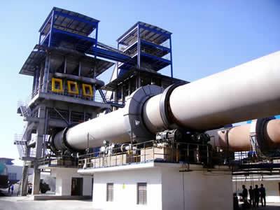 <b>湖北黄石日产600吨活性石灰窑生产线</b>
