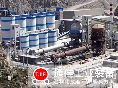 江西新余年产30万吨石灰窑生产线设备工艺