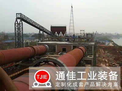 新疆阿克苏日产1000吨陶粒回转窑生产线