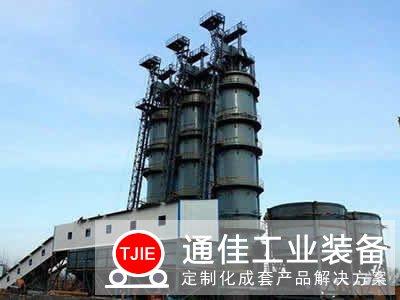 年产20万吨石灰窑生产线设备工艺