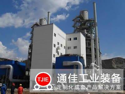 年产十万吨小型气烧石灰窑生产线工艺