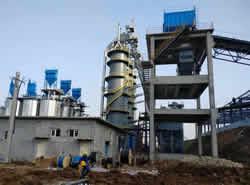 日产300吨石灰窑