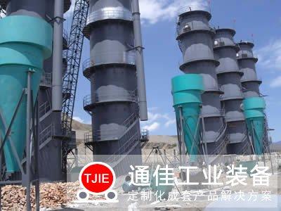 新疆阿克苏日产200吨石灰窑生产线工艺
