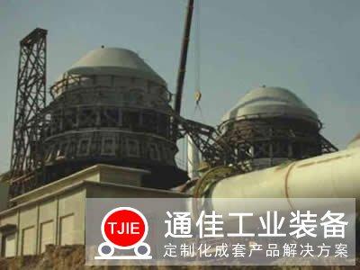 四川达州日产300吨石灰回旋窑设备生产线