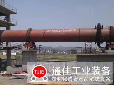 日产300吨陶粒回转窑生产线设备工艺