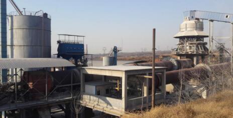 山西长治日产400吨活性石灰生产线