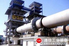 <b>四川德阳日产800吨石灰回转窑生产线</b>